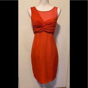 Asos Coral Dress size 4